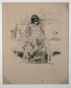 THE DRAPED FIGURE SEATED
