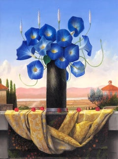 Still Life with Morning Glories