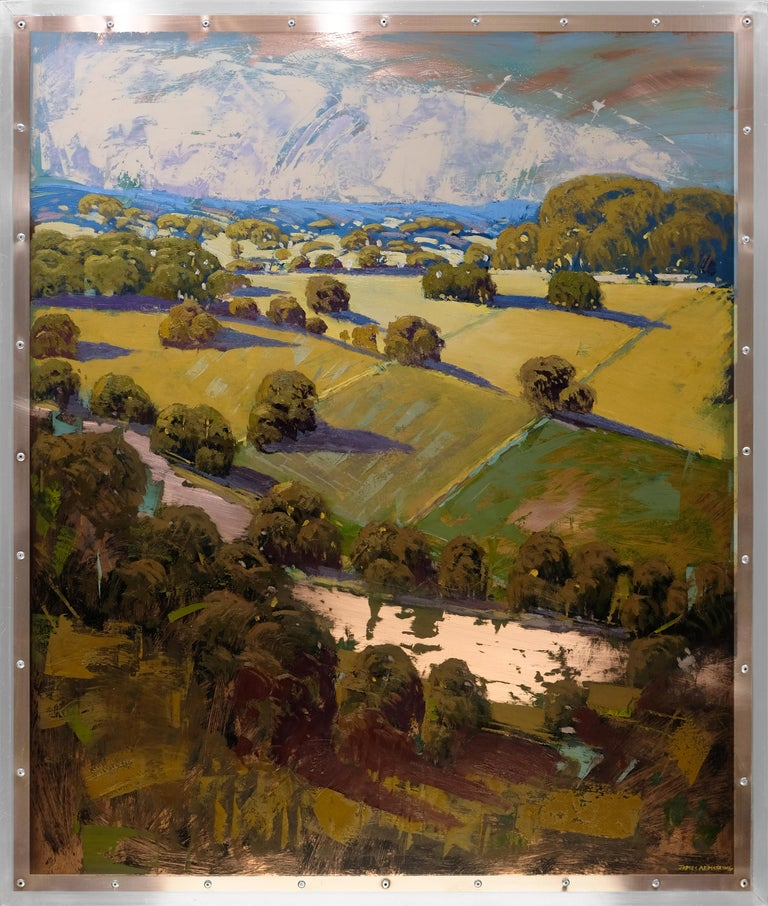 James Armstrong Landscape Painting - Above the River II