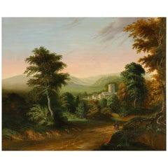 James Arthur O'Connor, Circle of, Landscape Oil