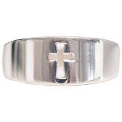 James Avery Crosslet Sterling Silver Ring