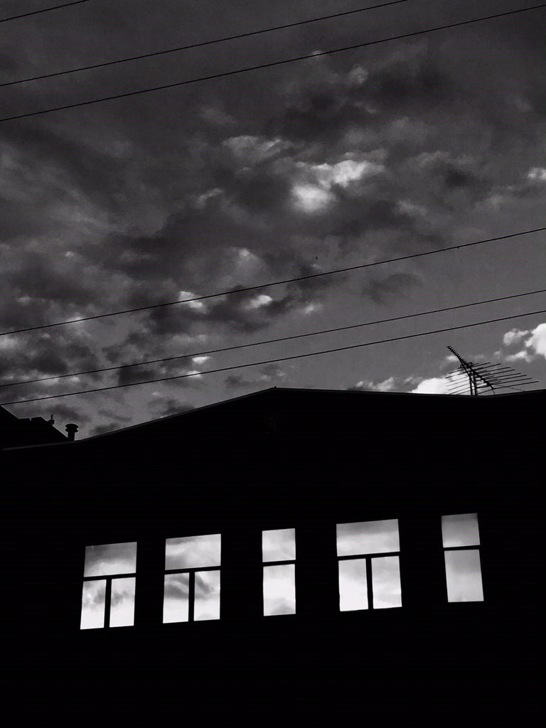 #inTheSky San Francisco #12 - Black Black and White Photograph by James Bacchi