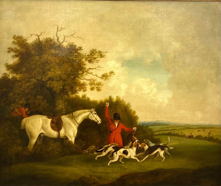 The Hunt - Painting by James Barenger