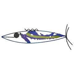 James Bearden Art Metal Fish