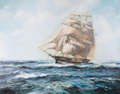 James Blade - Contemporary Oil, Keeling Schooner