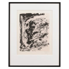 James Bohary Gardener Abstract 1990 Lithograph Signed