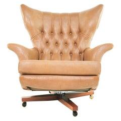 James Bond 62 Mid Century Swivel Chair by G Plan