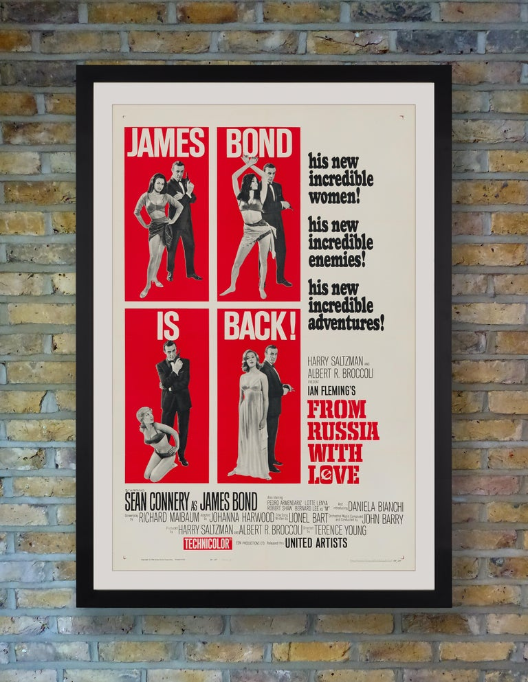 In Sean Connery's second outing as James Bond, 'From Russia With Love' saw the British spy battling a secret crime organization known as Spectre. The follow-up to 007's 1962 debut in 'Dr. No,' Terence Young's 'From Russia With Love' further