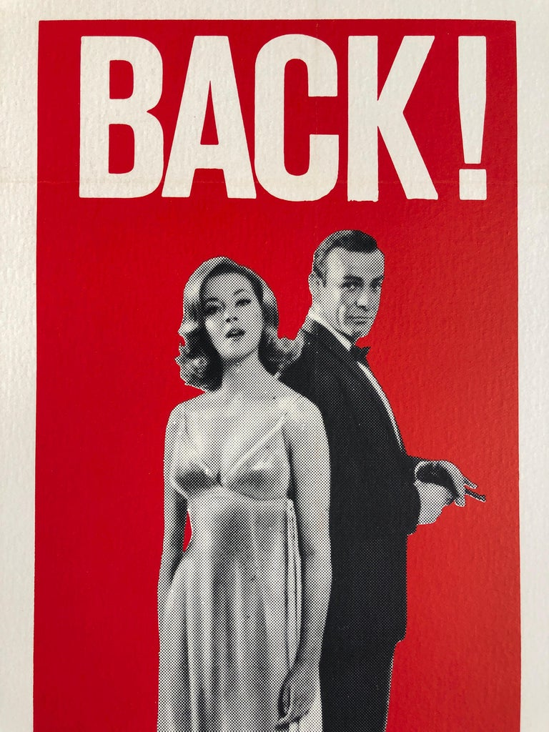 American James Bond 'From Russia with Love' Original US One Sheet Movie Poster, 1964 For Sale