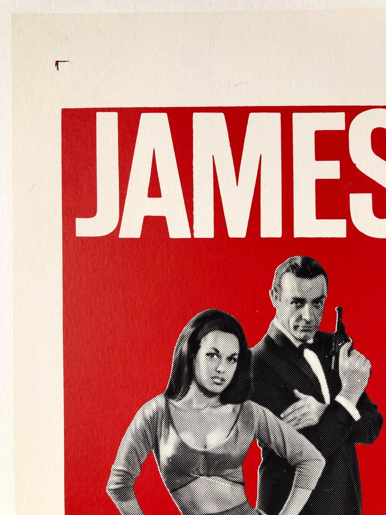 James Bond 'From Russia with Love' Original US One Sheet Movie Poster, 1964 In Good Condition For Sale In Devon, GB