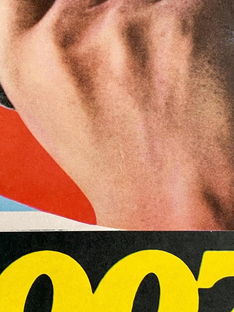 James Bond 'Goldfinger' Original Vintage Movie Poster, Japanese, 1971 For Sale 4