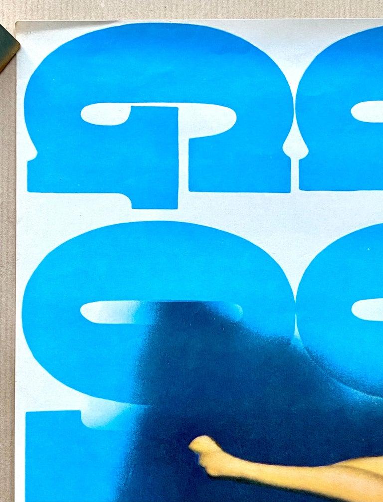James Bond 'Goldfinger' Original Vintage Movie Poster, Japanese, 1971 In Good Condition For Sale In Devon, GB