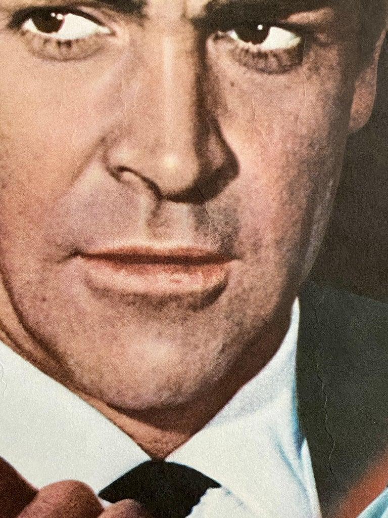 James Bond 'Goldfinger' Original Vintage Movie Poster, Japanese, 1971 For Sale 2