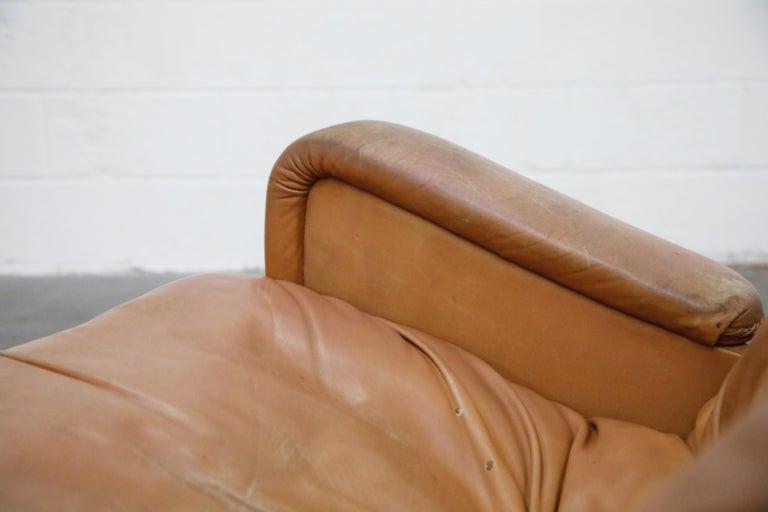 'James Bond' Model S-231 Swivel Lounge Armchair by De Sede, Switzerland, 1960s For Sale 11