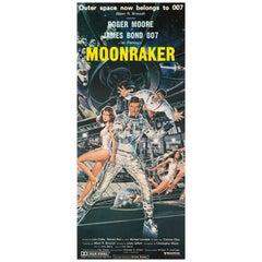 "James Bond ""Moonraker"" Original Vintage Australian Daybill Movie Poster, 1979"