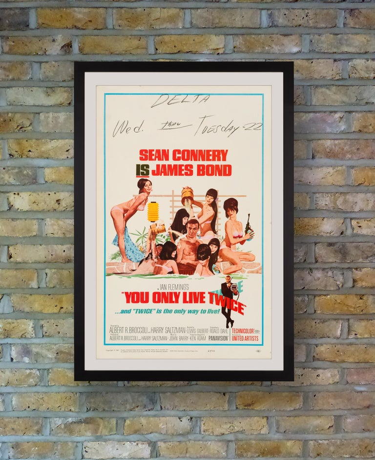 The fifth film in EON Productions' James Bond series and the last of Sean Connery's first stint starring as the suave secret agent, it was announced during filming of 'You Only Live Twice' that Connery would retire from the role, although he later