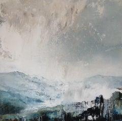 James Bonstow, Delamore I, Original Abstract Landscape Painting, Art Online