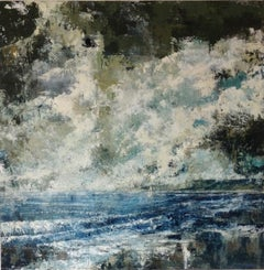 James Bonstow, Delamore III, Original Contemporary Landscape Painting