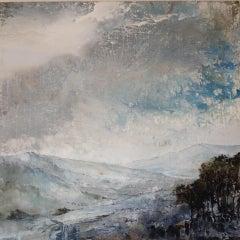 James Bonstow, Delamore IV, Original Abstract Landscape Painting