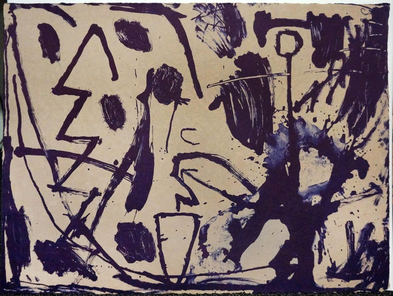 James Brown Abstract Print - UNTITLED