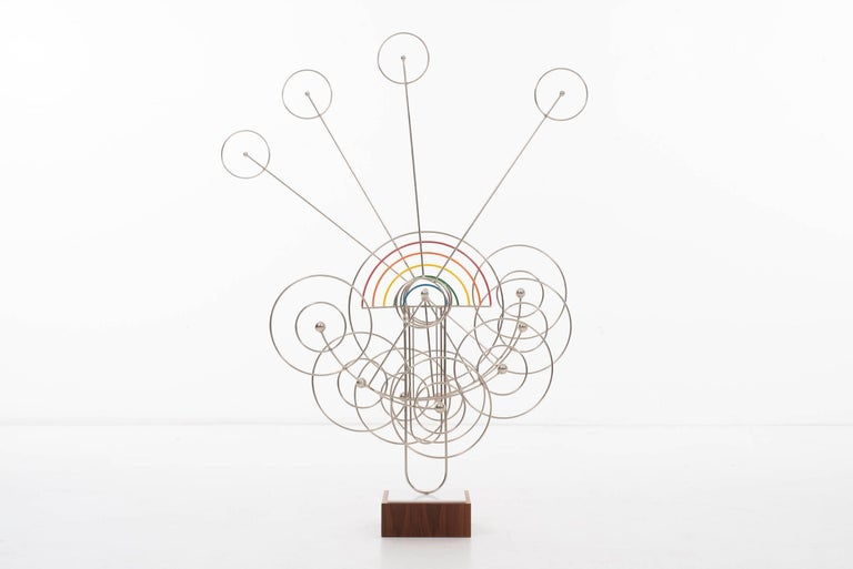 Kinetic James Burlini Knietic Sculpture For Sale