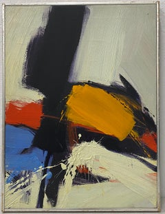 James Byrd Mid Century Modern Abstract Painting C.1970