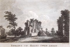 Remains of Hales Owen Abbey