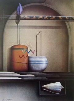 Sea & Air, Original Lithograph, James Carter