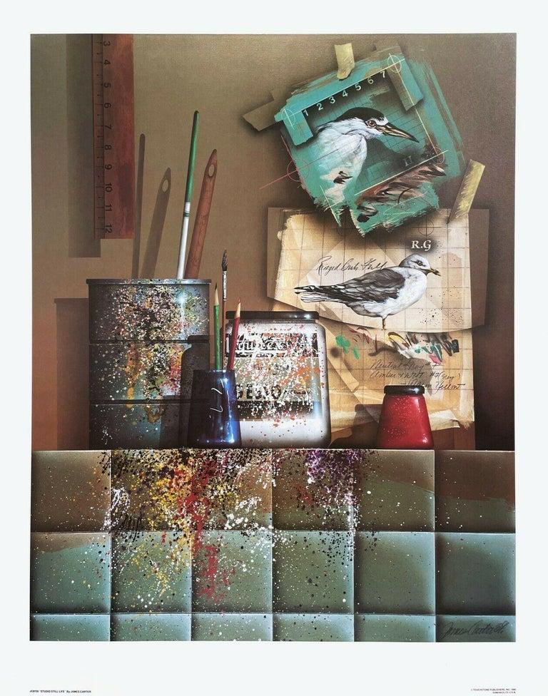 Studio Still Life - Print by James Carter