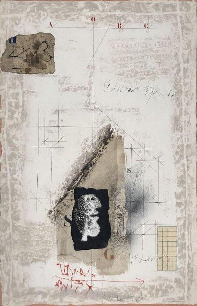 James Coignard Abstract Print - No Title