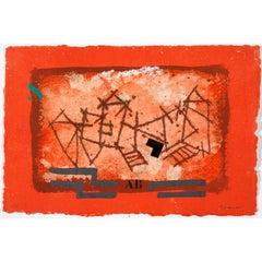 Paysage rouge #1231