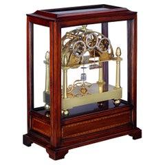 James Condliff Skeleton Table Regulator Clock