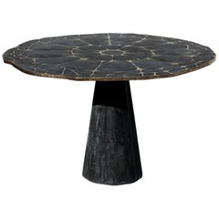 James de Wulf Exo Bronze Dining Table