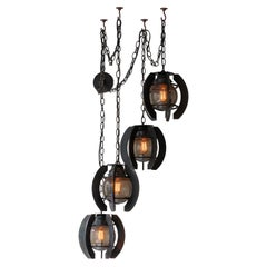 James de Wulf Orb Chandelier Lighting