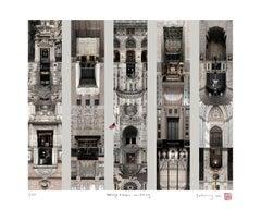 Doorways of Empire, New York City- Contemporary Print, Giclee, 21st Century
