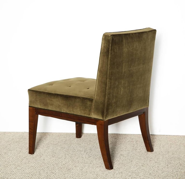 American James Dolena Slipper Chair For Sale