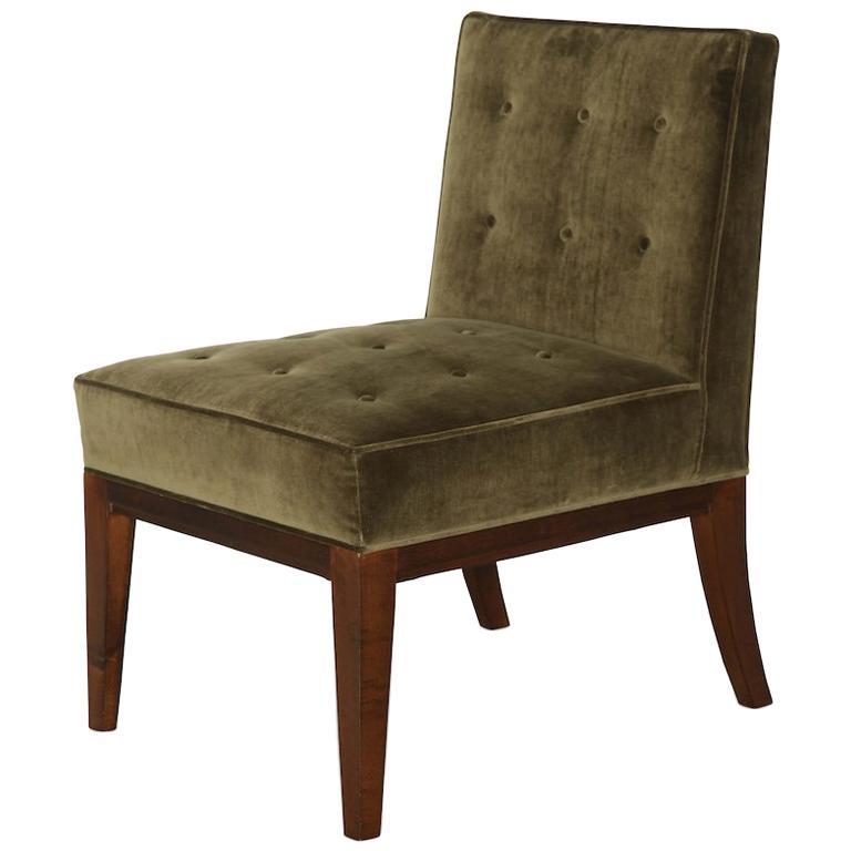 James Dolena Slipper Chair For Sale