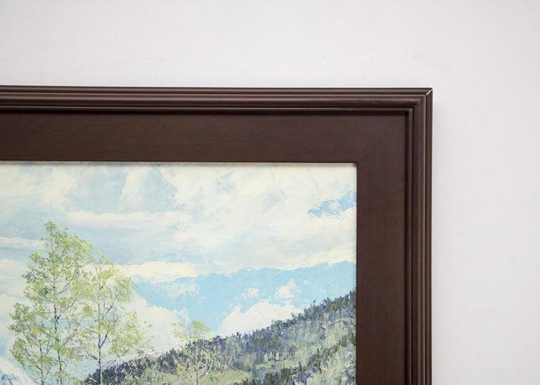 Original signed framed vintage oil painting by James Emery Greer (1903-1990),