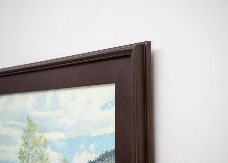 Renewal - Grizzly Peak San Juans (Colorado Mountain Landscape in Spring) For Sale 1