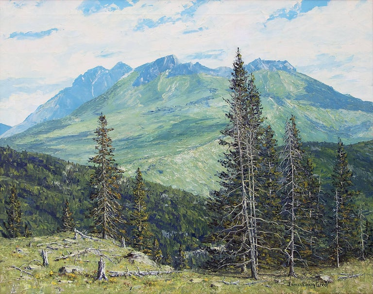 Summer - San Juans (Colorado) - Painting by James Emery Greer