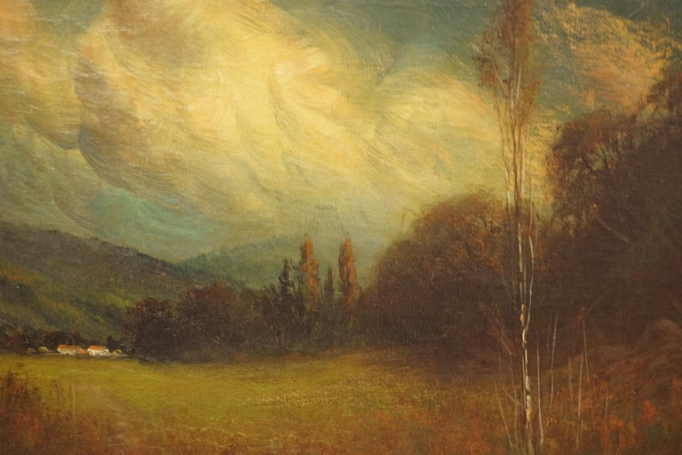 Early 20th Century Late Afternoon Monterey Landscape by James Everett Stuart For Sale 2