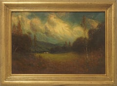 Early 20th Century Late Afternoon Monterey Landscape by James Everett Stuart
