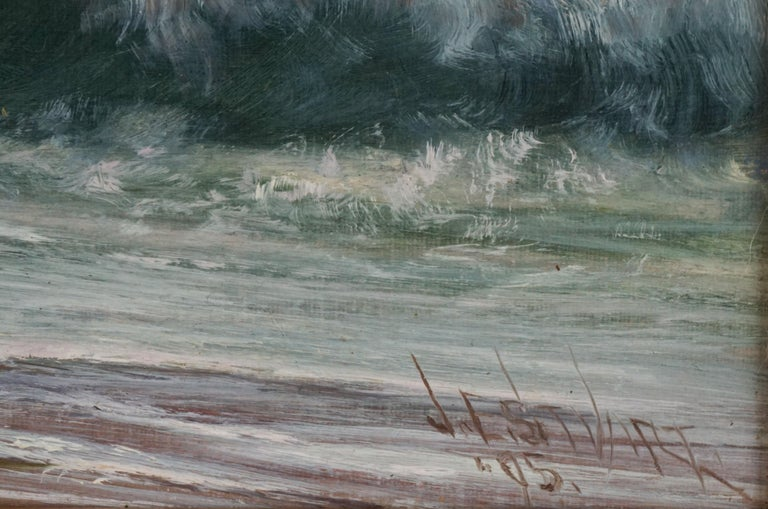 Late 19th Century Northern California Seascape by James Everett Stuart 3