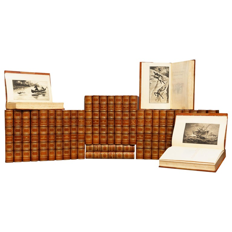 James F. Cooper, Complete Works For Sale