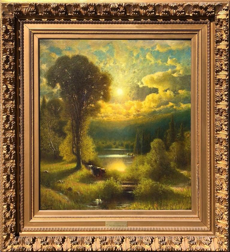 James Fairman Animal Painting - Sunset