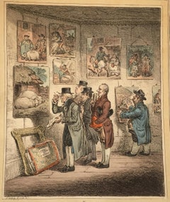 Connoisseurs Examining a Collection of George Morland