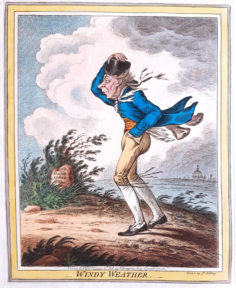 Delicious Weather - Complete Series of 5 Hand-colored Etchings - 1808 6
