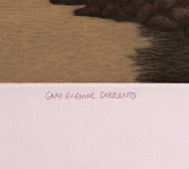 Gray Evening Sorrento - Print by James Groleau