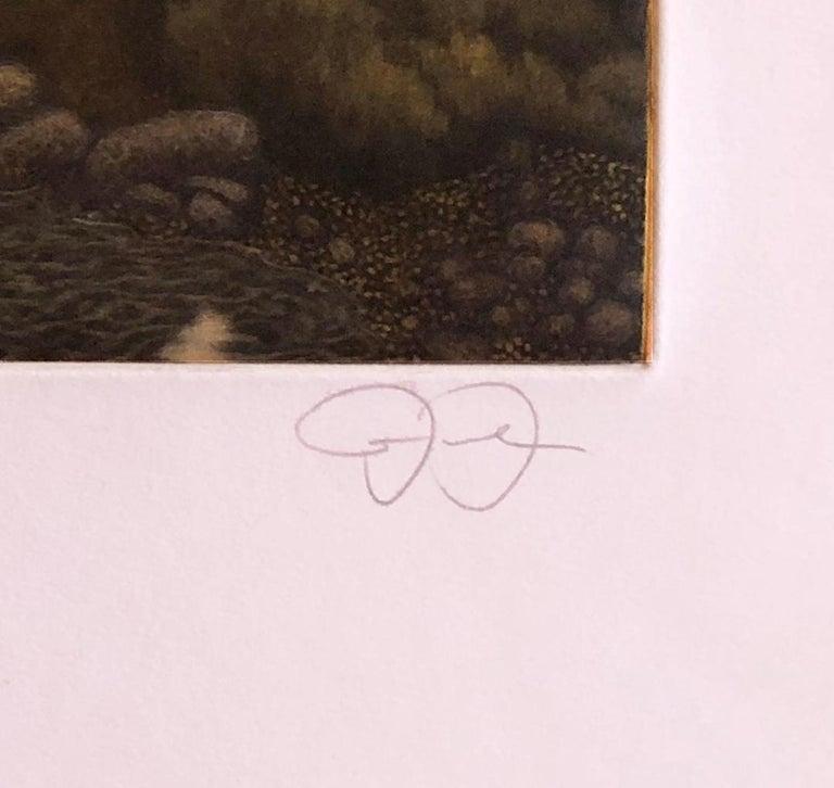 Gray Evening Sorrento - Contemporary Print by James Groleau