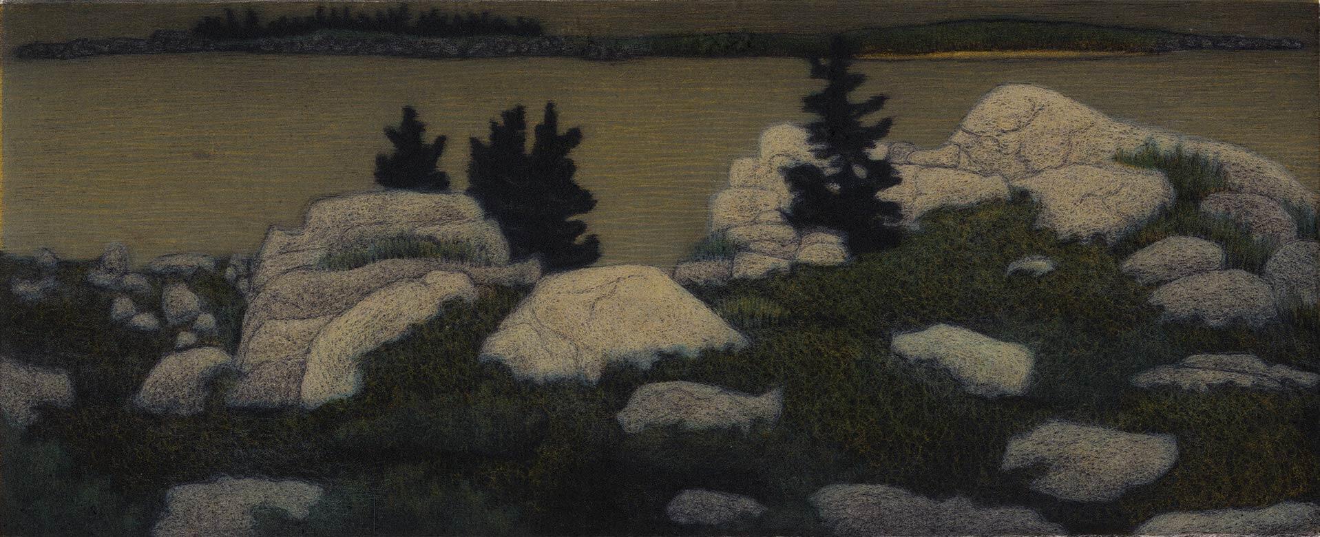 Night at Granite Bluff